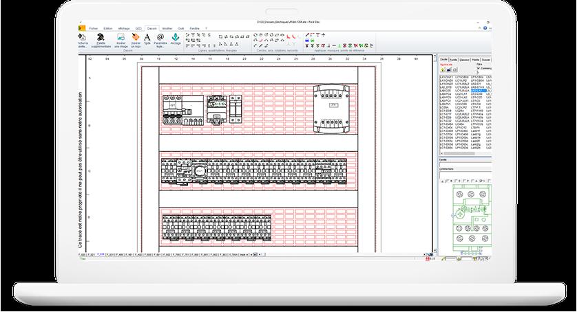 La nouvelle g n ration de gestion archivage des documents techniques algotech - Logiciel armoire electrique ...