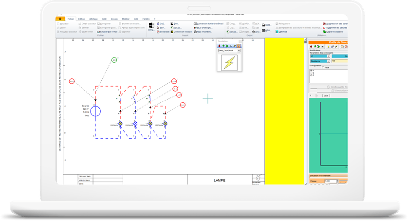 Electrical Cad Software From Drawing To Simulation: Electrical Wiring Diagram Simulator At Shintaries.co